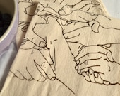 Hands Tea Towels