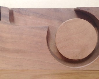 50% discontinued sale item - mt  masking tape dispenser - walnut