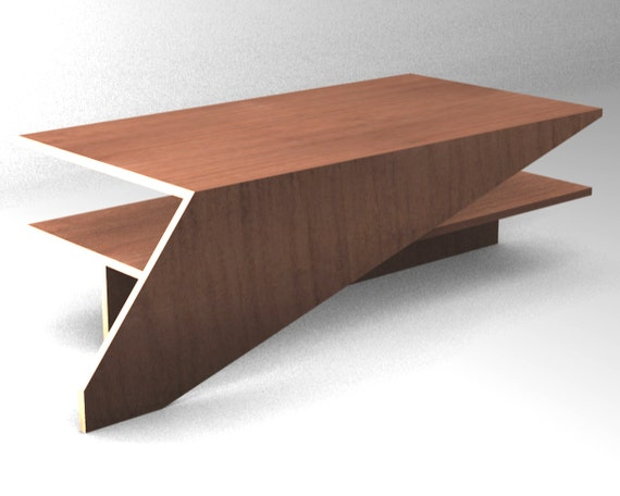 Covered Coffee Table Furniture Plan