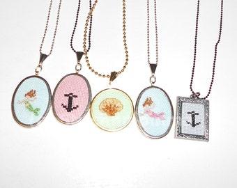 Anchor Pendant Necklace