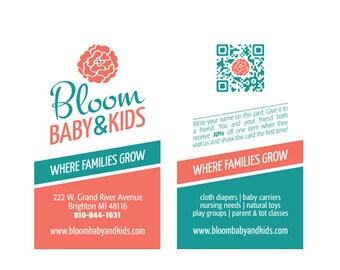 Custom Business Card Design Front & Back