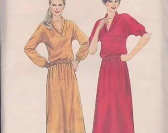 Butterick 3412 Misses' Top and Skirt Sizes 10, 12 ,14 Vintage UNCUT Pattern Rare and OOP