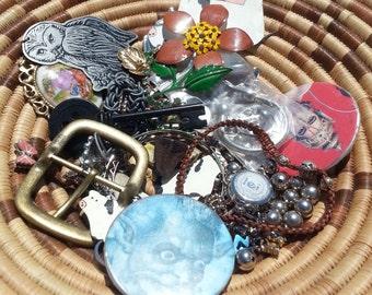 Assorted Metal Treasure Jewelry Supply
