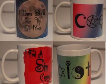 Wickedly fun Coffee tea mugs