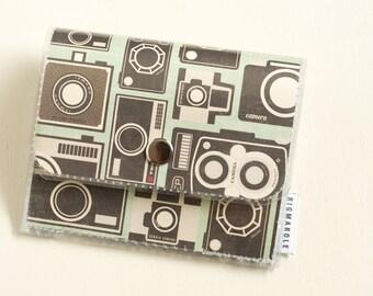 Vintage Camera - Accordion Wallet