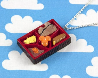 Mini Bento Box Necklace