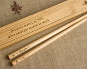 Bamboo Chopstick Box + Chopsticks
