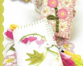Crabapple Hill Studio Blushing Needle Keeps 823 Hand Embroidery Applique Pattern