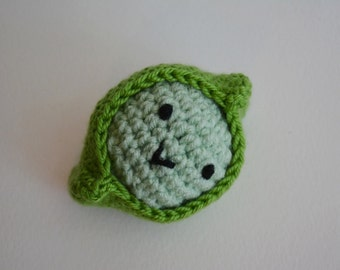 Pea in a Pod- Amigurumi Friend