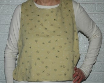 Adult bib for those who spill for whatever reason     -- providing clothing protection and  dignity to the wearer