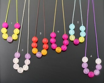 Yummy colors necklace