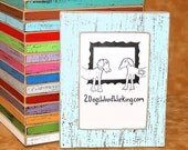 Colored Photo Picture frame, 3x3, 4x4, 4x6, 5x5 or 5x7 Weathered Distressed Frame, Square Instagram frame, Choose Color