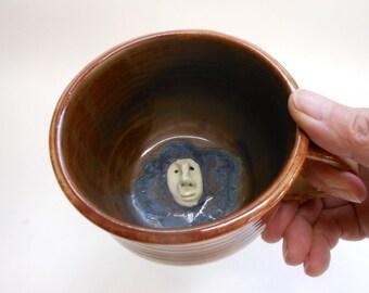 Here's looking at you stoneware Mug