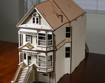 Painted Lady Scale Model Kit