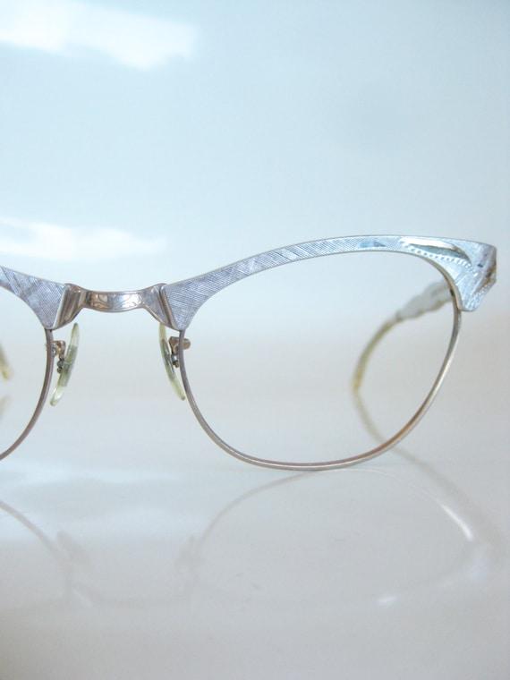 Vintage art craft 1950s cat eye glasses by oliverandalexa for Art craft eyeglasses vintage