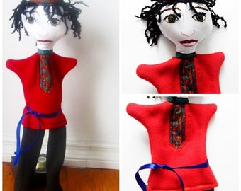 Prince Hand Puppet - from Beauty and the Beast - Russian version- Russian Prince-Russian Folk Costume-FairyTale Character
