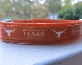 The University of Texas Longhorns Cat or Small Dog Collar