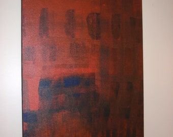 """Abstract Painting on Canvas 18"""" x 24"""""""