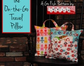 The On-the-Go Travel Pillow (Instant Download) The Go Fish Series