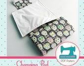 Changing Pad PDF Sewing Pattern - Immediate Download