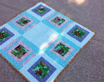 Baby Quilt Bernstein Bears Baby Quilt Fairy Tales Littlr Girl Quilted Baby Blanket Quiltsy Handmade Christmas In July