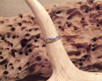 Native American Indian  ring or toe ring -   sterling silver -    SALE FREE SHIPPING
