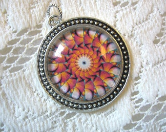 Southwest Kaleidoscope Pendant Free Shipping in USA
