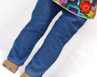 18 Inch Doll Skinny Jeans