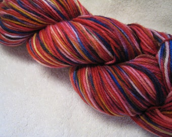 Fireworks - sock yarn - superwash merino and nylon