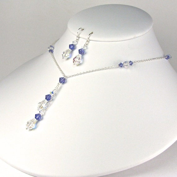 Mother Of The Bride Jewelry: Mother Of The Bride Jewelry Set Purple Mother By