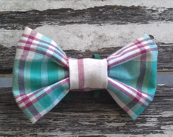 Rufus slide-on-collar doggie/kitty bow tie