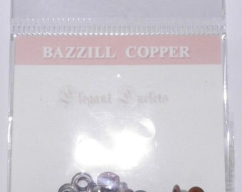 ON SALE  Bazzill Copper Eyelets