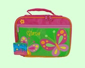 Personalized Stephen Joseph New Style BUTTERFLY Lunchbox