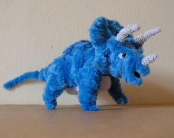 Fuzzy Figures- Triceratops