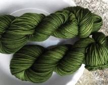 Grouchy -- Decadent -- Hand Painted Superwash DK Merino Wool Yarn