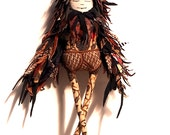 Icarus Love Bird , art doll
