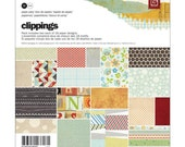 "Clippings Paper Pad 6""X6"" by Basic Grey"