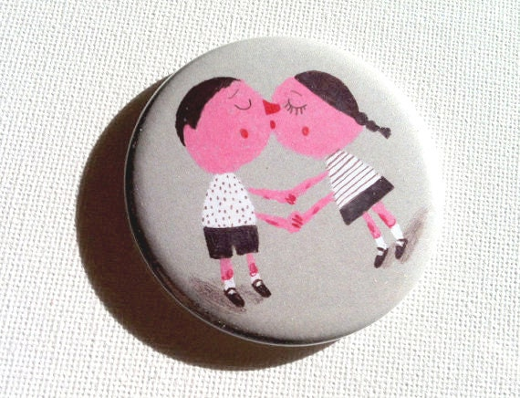 Kisses / Fridge magnet