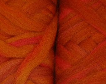 50 gm Merino Pencil Roving Fall In Vermont