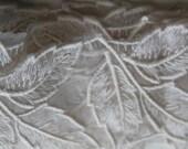 Ivory lace trim Bridal leaf