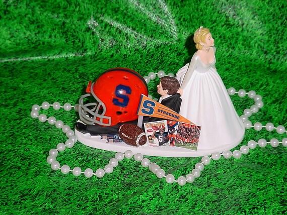 syracuse university groom sports fan fun wedding cake topper. Black Bedroom Furniture Sets. Home Design Ideas