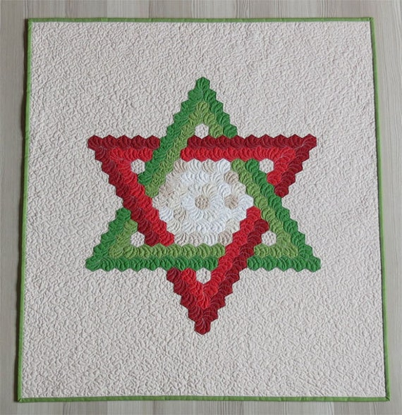 Star of David Quilt pattern