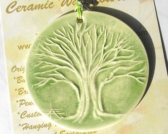 TREE OF LIFE handmade ceramic ornament