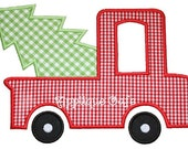 157 Tree Truck Machine Embroidery Applique Design