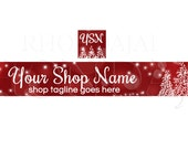 Banner and Shop Icon  - Christmas PS4 - Etsy Banners - 2 Piece Set