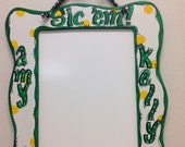 Dry erase board Baylor dorm decor