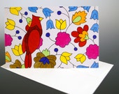 Natural Tapestry: Set of 5 Notecards