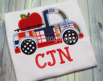 Personalized Apple Truck Shirt