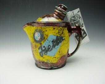 Raku Isetta Teapot