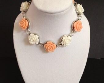 Delicate flower bracelet.